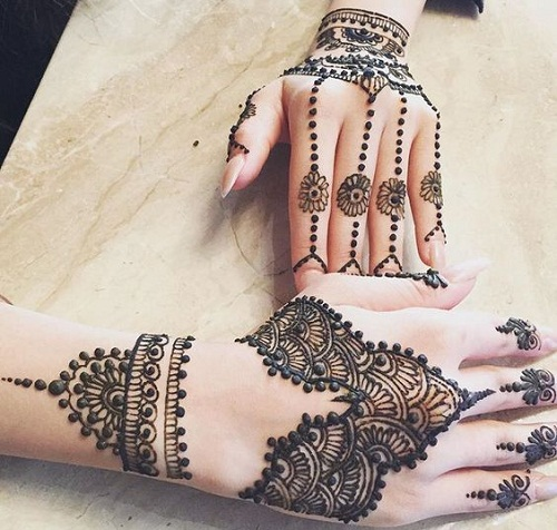 Unbelievable Arabic Mehndi Designs