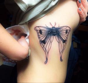 Side Butterfly Body Modification Story