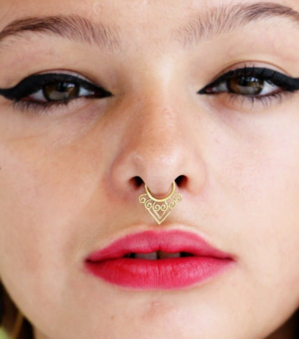 Brass Fake Septum