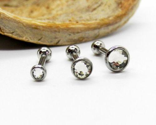 Triple Forward Helix Piercings for Ladies