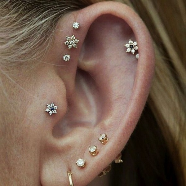 Ear Piercings Types