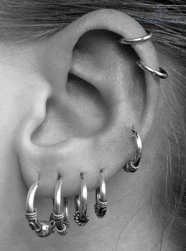 Small Ear Piercings