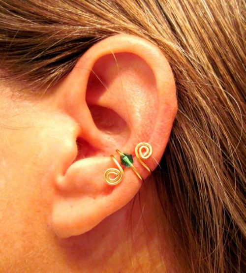 Handmade Gold Filled Helix Piercing