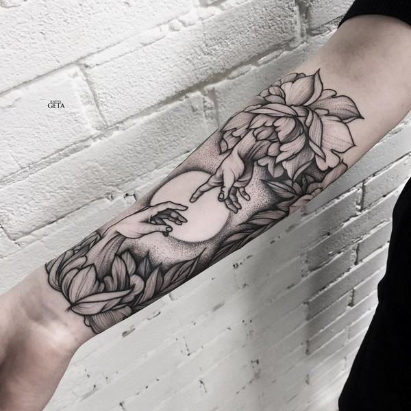 Arm And Chest Tattoo Ideas