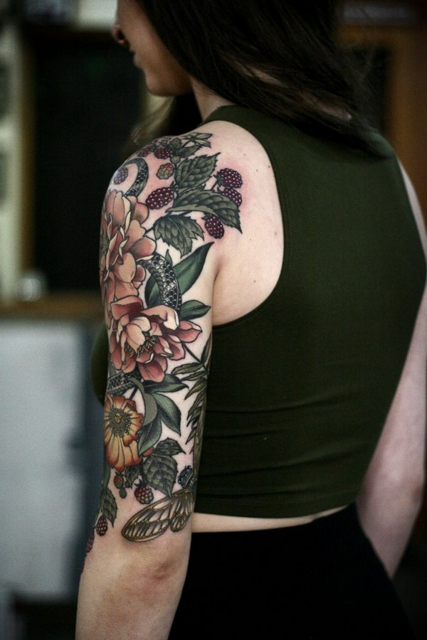 Arm Tattoos Female