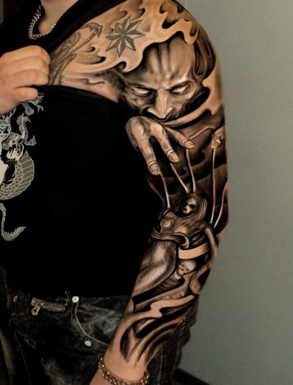 Best Sleeve Arm Tattoo Designs For Men
