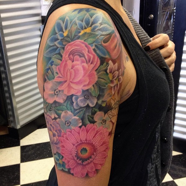 Best Sleeve Arm Tattoo For Women