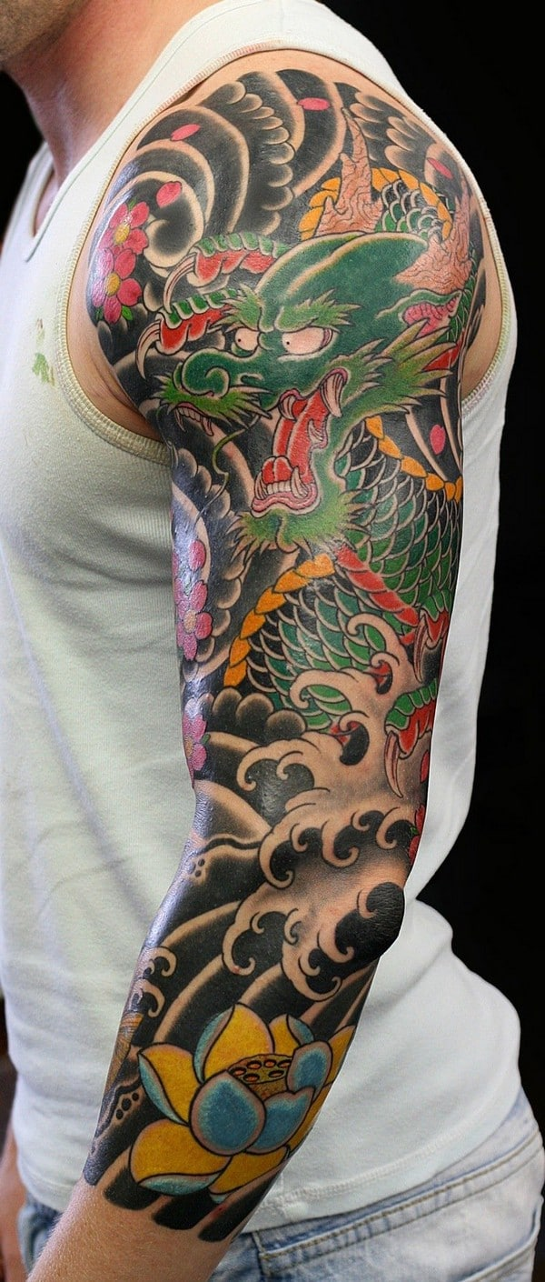 Half Sleeve Arm Tatttoos