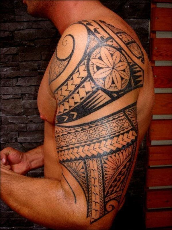 Half Sleeve Lower Arm Tattoos Designs
