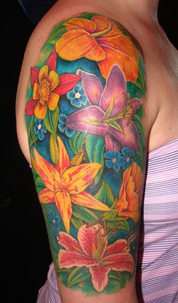 Inner Arm Tattoos For Females