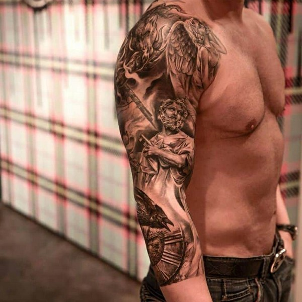 Japanese Arm Sleeve Tattoos