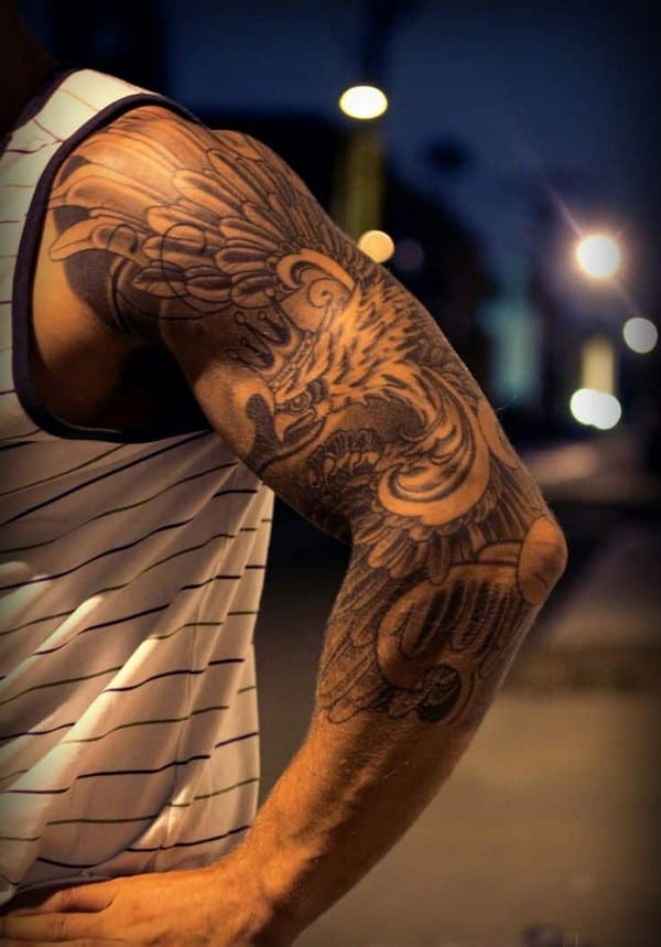 Japanese Sleeve Arm Tattoo Designs