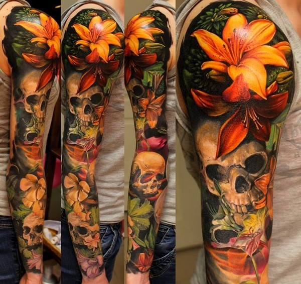 Sleeve Forearm Tattoo Design