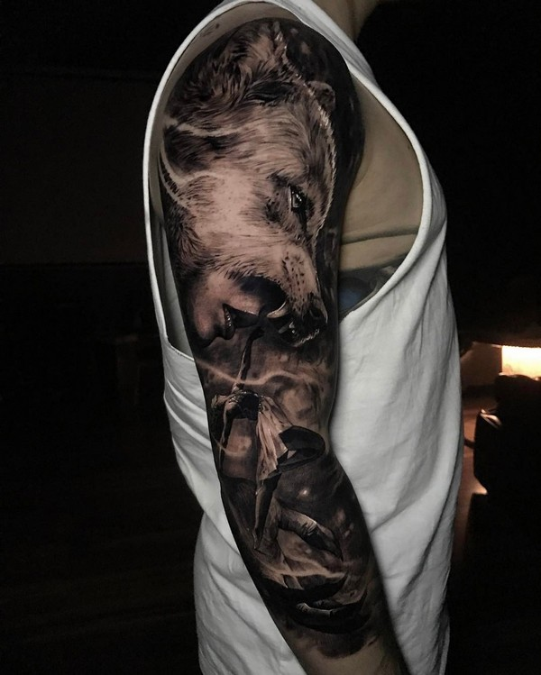 Sleeve Upper Arm Tattoo