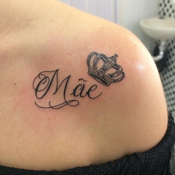 Black Crown Tattoo