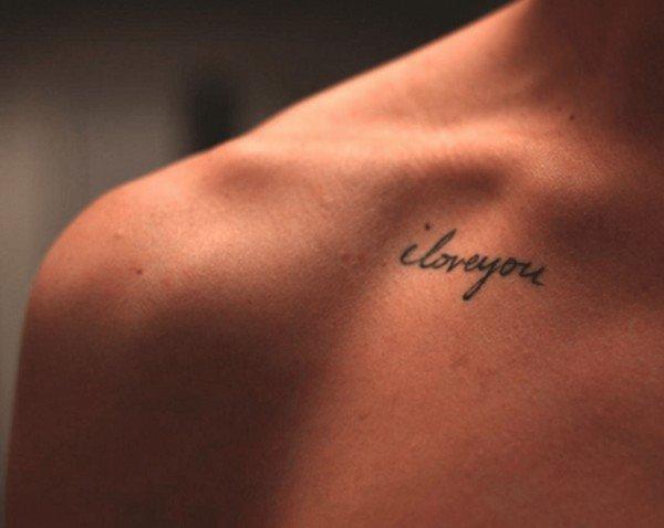 Collar Bone And Shoulder Tattoos