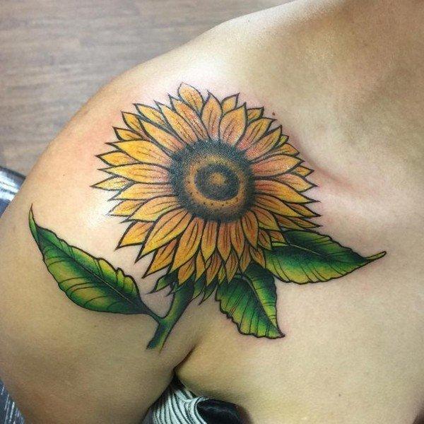 Collar Bone Love Tattoos
