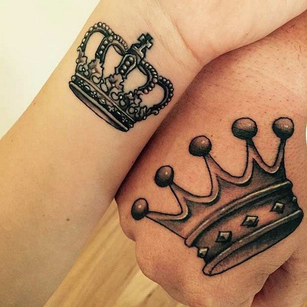 Crown Tattoo Above Eyebrow Meaning