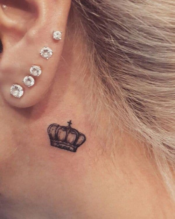 Crown Tattoo On Ring Finger Meaning