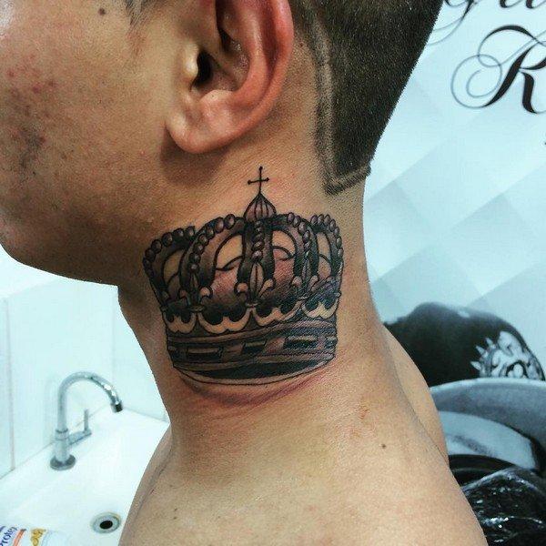 Crown Tattoo Small