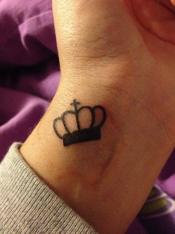 Crown Tattoo With Wings Meaning
