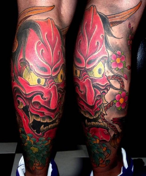 Leg Tattoo Cover Up