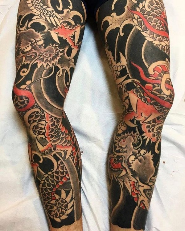 Leg Tattoo For Girl