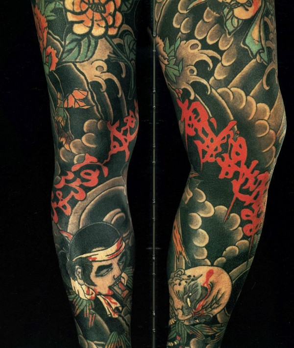 Leg Tattoo For Mens