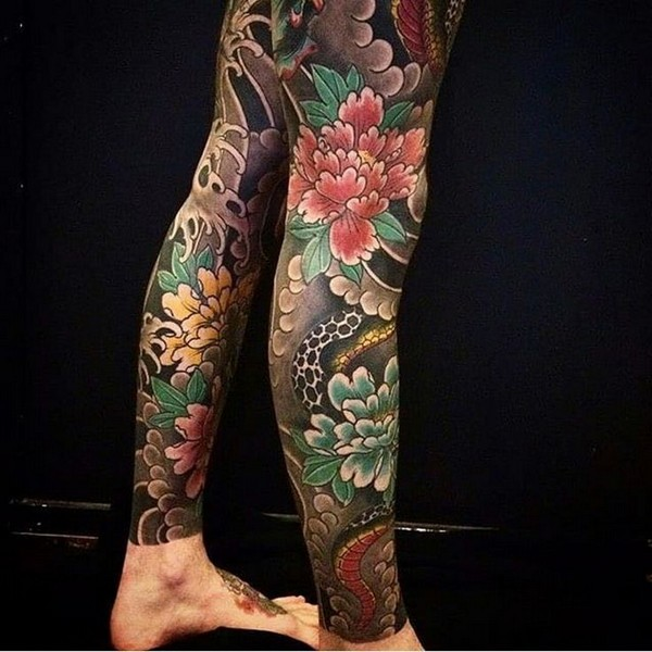 Leg Tattoos For Females Small