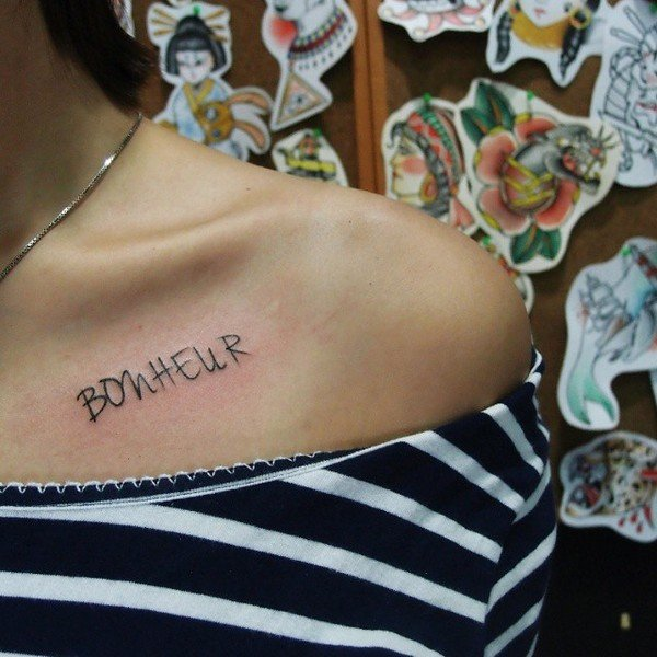 Collar Bone Tattoo Designs