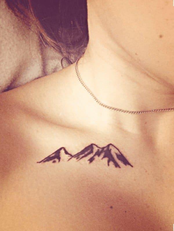 Collarbone Tattoo Girl