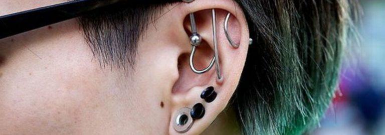 multiple ear piercing