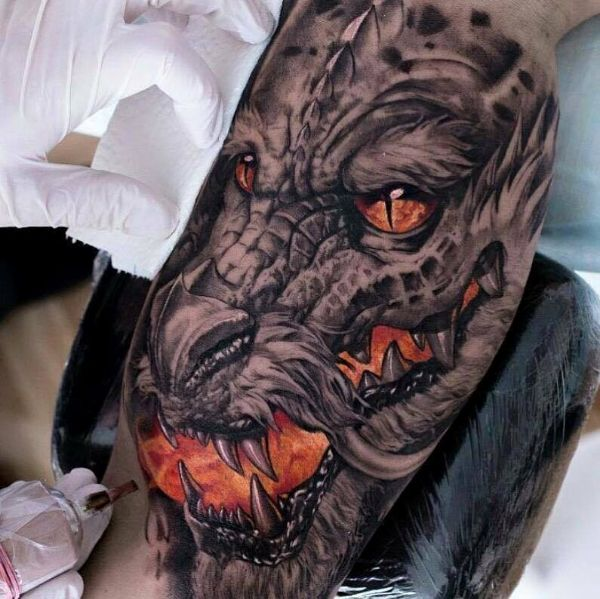 Dragon Tattoo Ideas Drawing Meaning