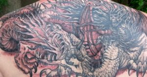Dragon Tattoos Ideas Meaning On Back Drawing