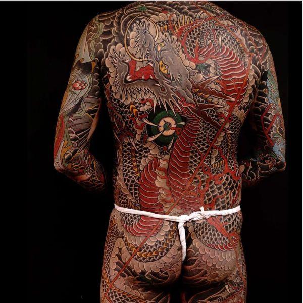 Japanese Dragon Tattoos On Back Ideas