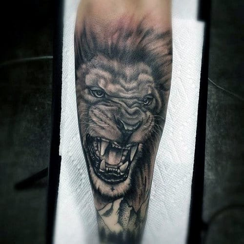 Lion Tattoo Sleeve Meaning