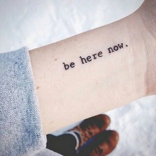 Simple Text Tattoo Font