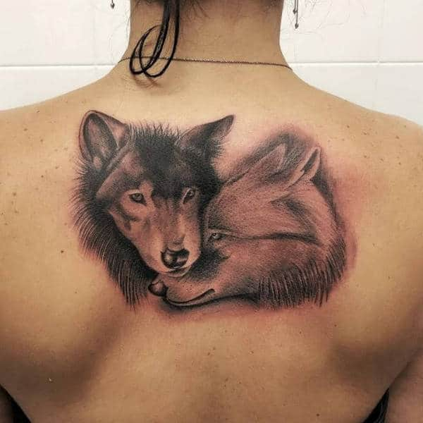 Celtic Wolf Tattoos For Women