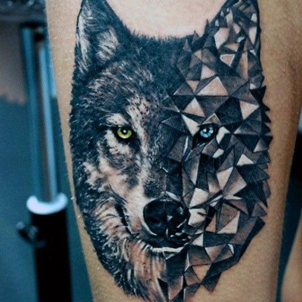 Wolf Tattoo Ideas For Men