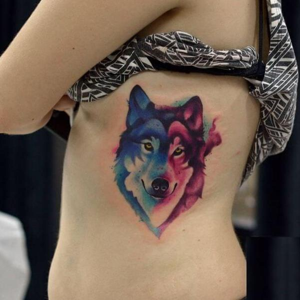 Wolf Tattoos For Females