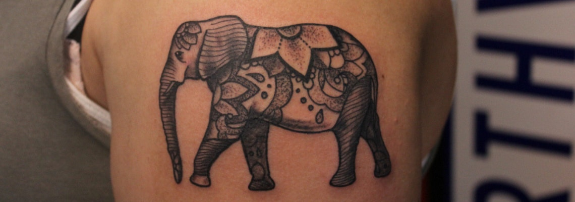 07e249593 100 Mind-Blowing Elephant Tattoo Designs with Images - Piercings Models