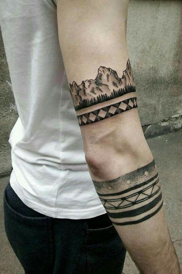 Simple Armband Tattoos
