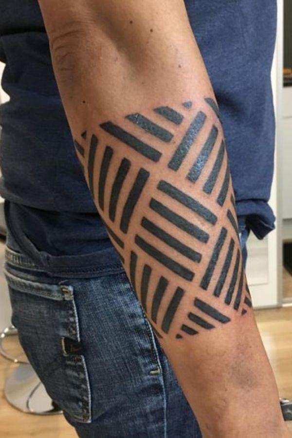 Geometric Armband Tattoos