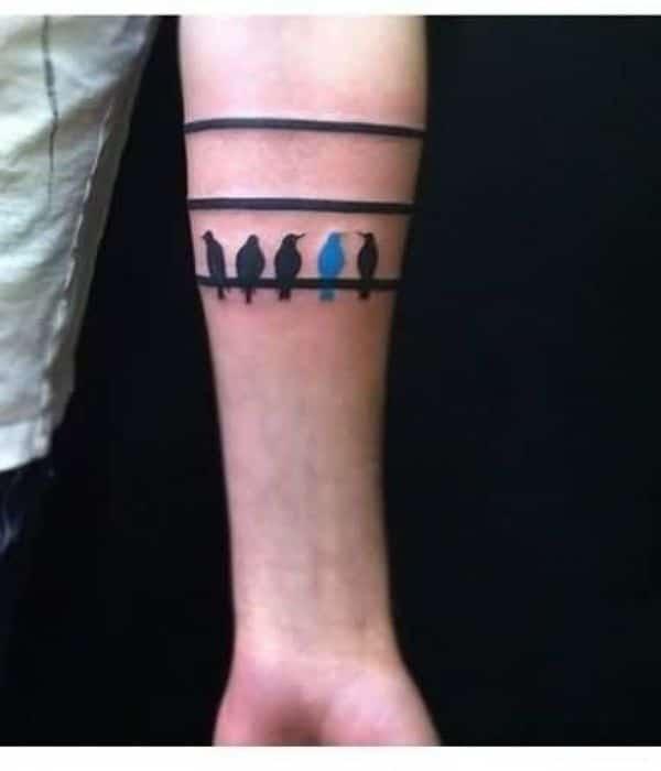 Mens Armband Tattoos Designs