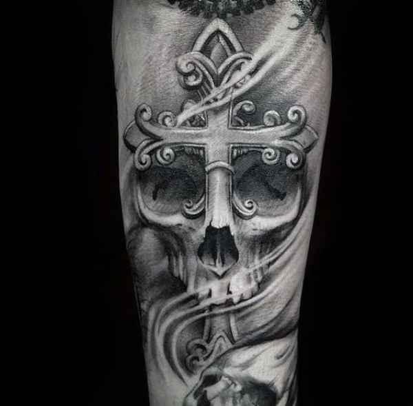 Egyptian Cross Tattoo
