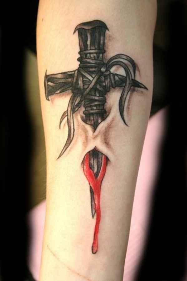 Red Cross Tattoo