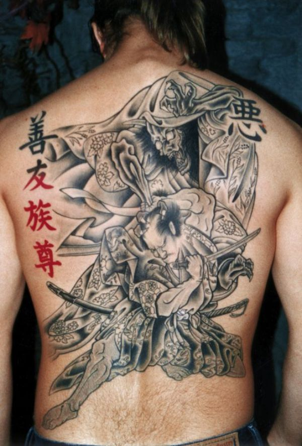 Japanese Reaper Tattoos
