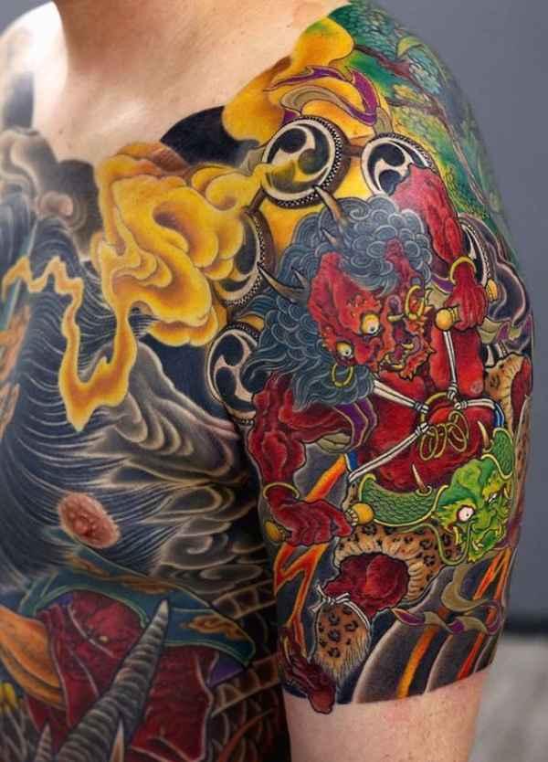 Japanese Rip Tattoos