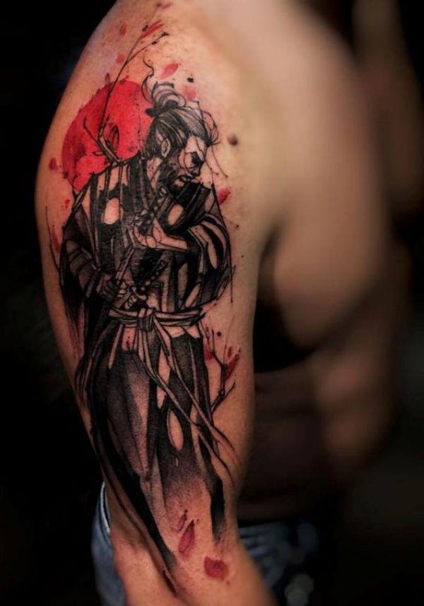 Japanese Samurai Tattoos