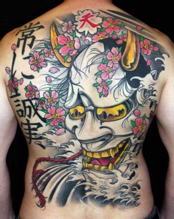 Japanese Tattoos Back